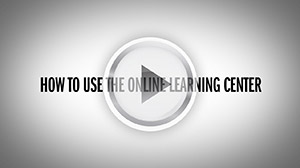 How to use the online learning center.